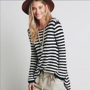 🌵4 for $20 / Free People Striped Swing Tunic